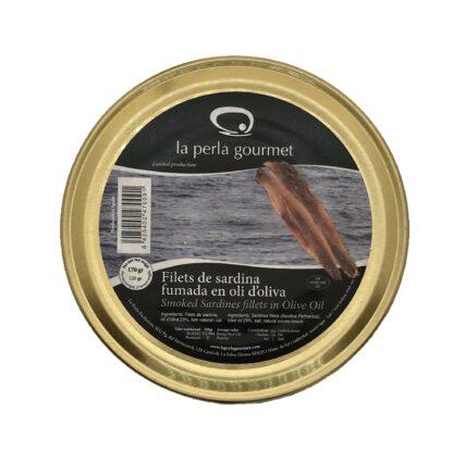 Filetes de sardina ahumada